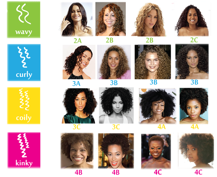 Hair Types, Curls and Textures  - What a Curl Wants